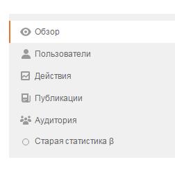 Новая статистика в Одноклассниках. Это просто круто!