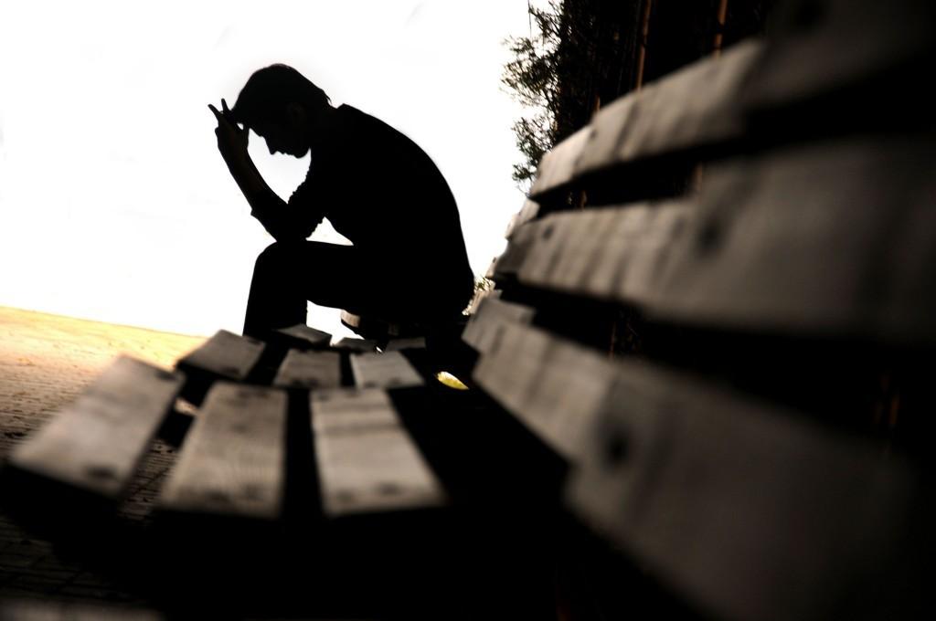 грустный человек